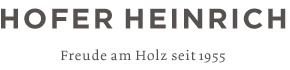 Tischlerei Hofer Heinrich | Freude am Holz seit 1955